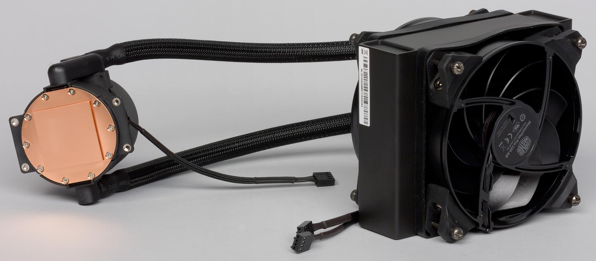Обзор систем жидкостного охлаждения Cooler Master MasterLiquid Pro