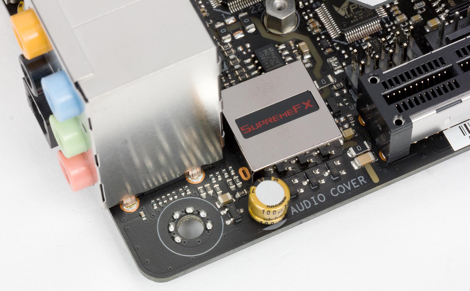 Обзор материнской платы Asus ROG Strix Z370-I Gaming форм