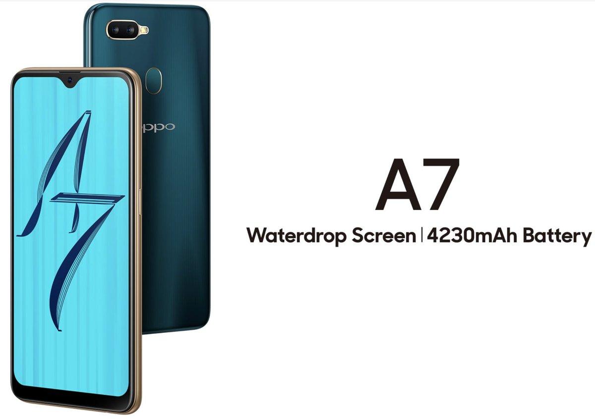 Новый смартфон Oppo A7 саккумулятором на4 320 мАч дебютирует 22ноября