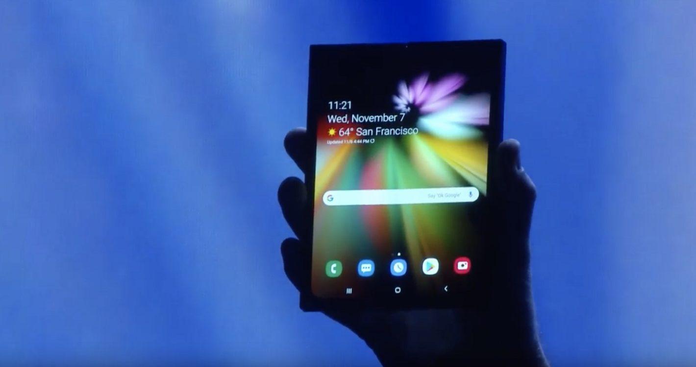 Стали известны характеристики гибкого экрана Infinity Flex складного смартфона Samsung