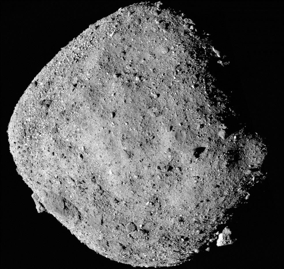 Зонд NASA нашел наастероиде Бенну следы воды