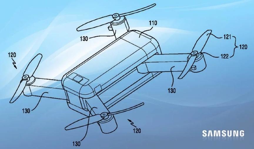 Самсунг запатентовала дрон-трансформер, которым можно управлять схолодильника— Mail Hi-Tech