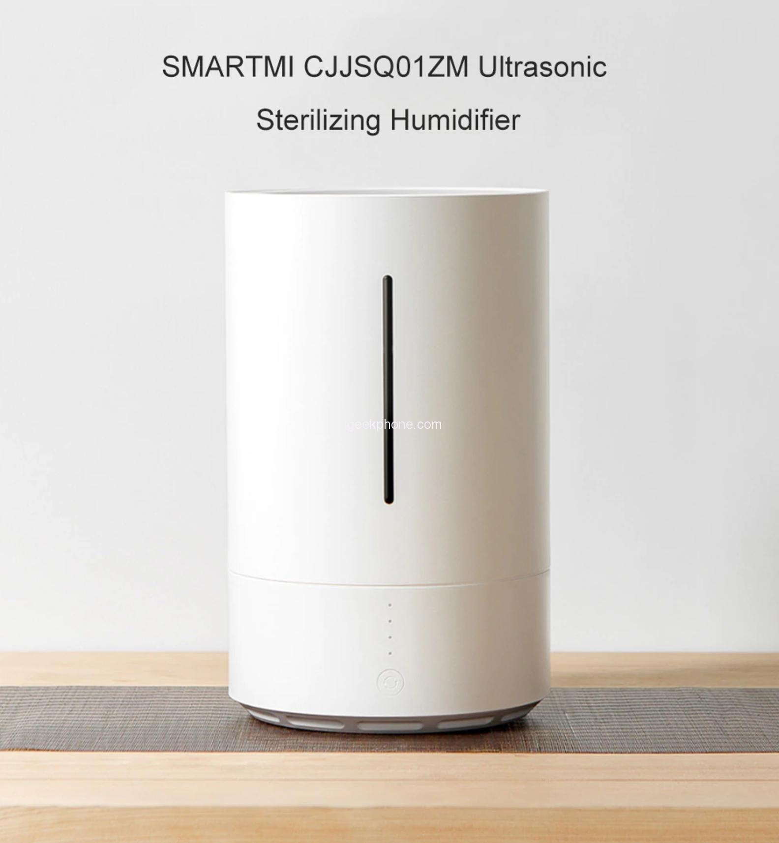 Xiaomi выпустила новый антибактериальный увлажнитель воздуха