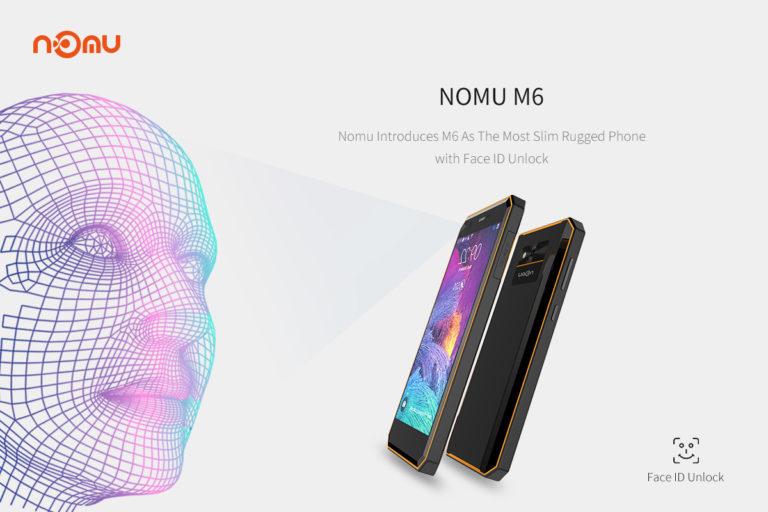 Nomu M6 — самый тонкий защищенный смартфон с поддержкой Face ID