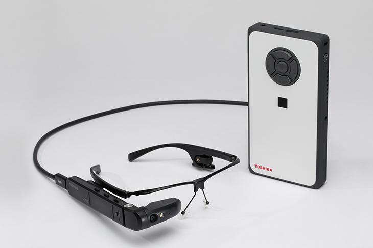 Toshiba dynaEdge AR100 Smart Glasses