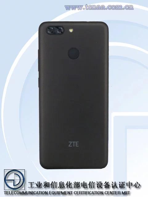 Смартфон ZTE V0920 получил сдвоенную камеру и полноэкранный дизайн
