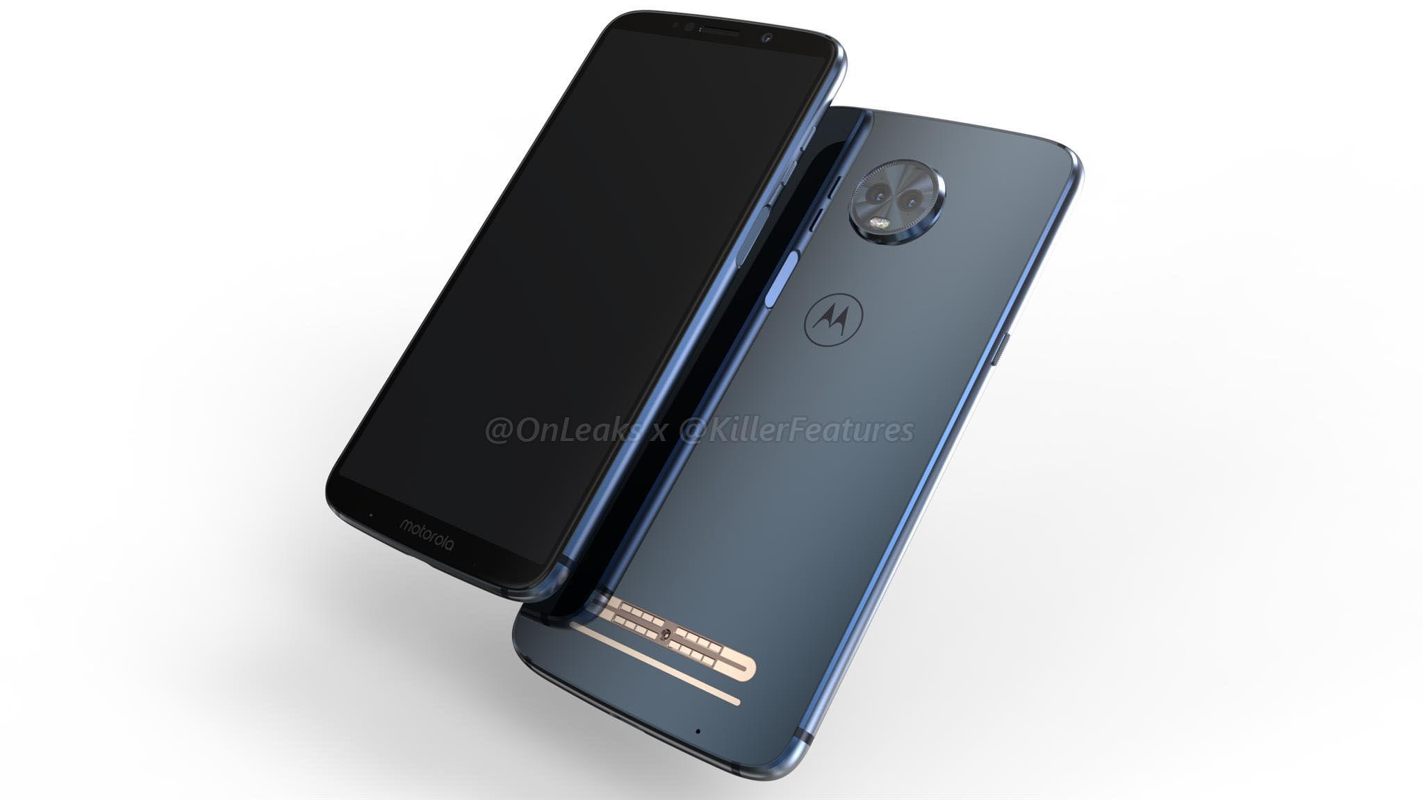 Всеть утекли цены на мобильные телефоны Motorola Moto G6 иG6 Play