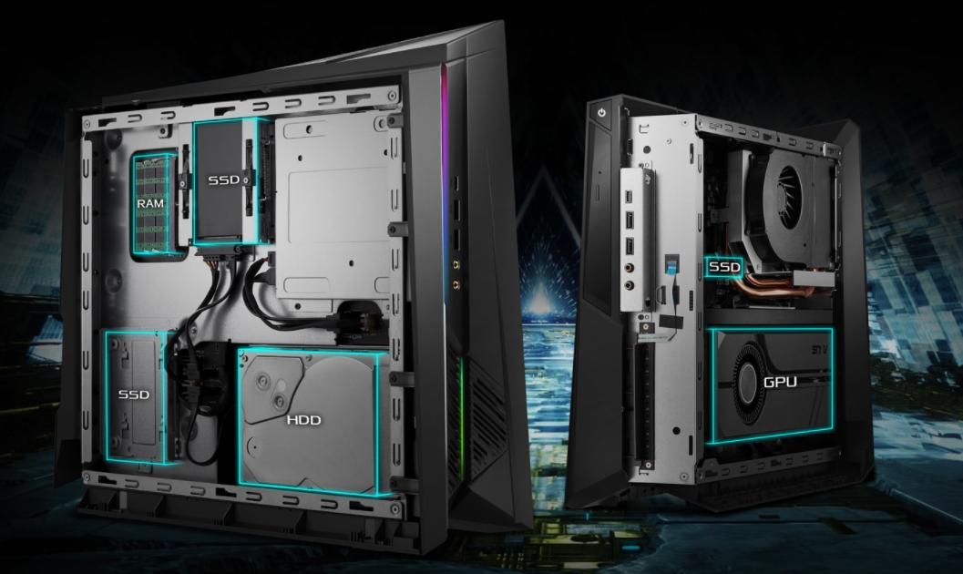 ASUS выпустила компактный компьютер ROG Huracan G21