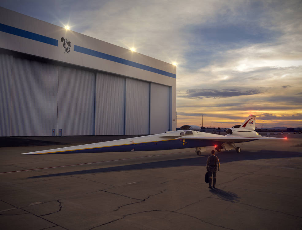ВСША анонсировали сверхзвуковой пассажирский самолет
