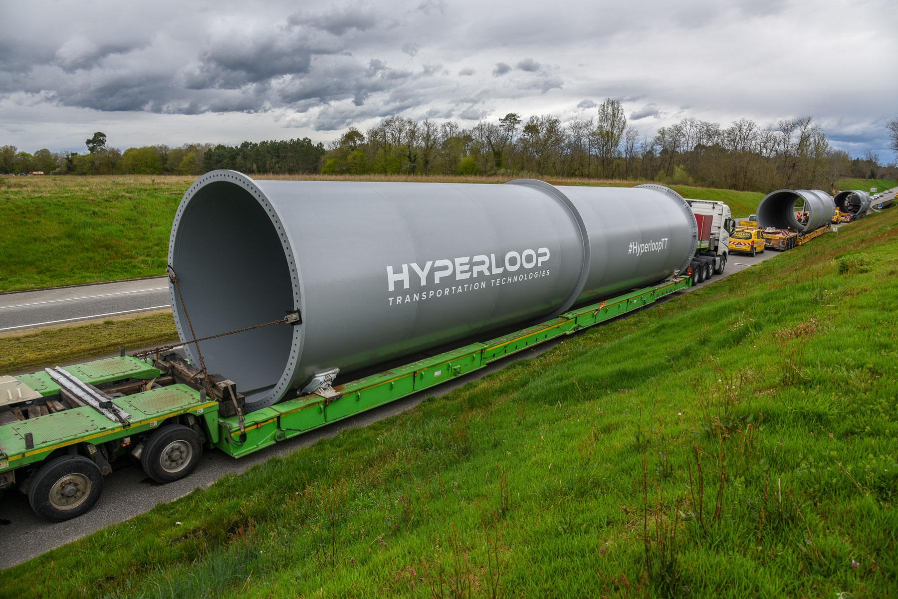Во Франции стартовало строительство тестовой установки Hyperloop