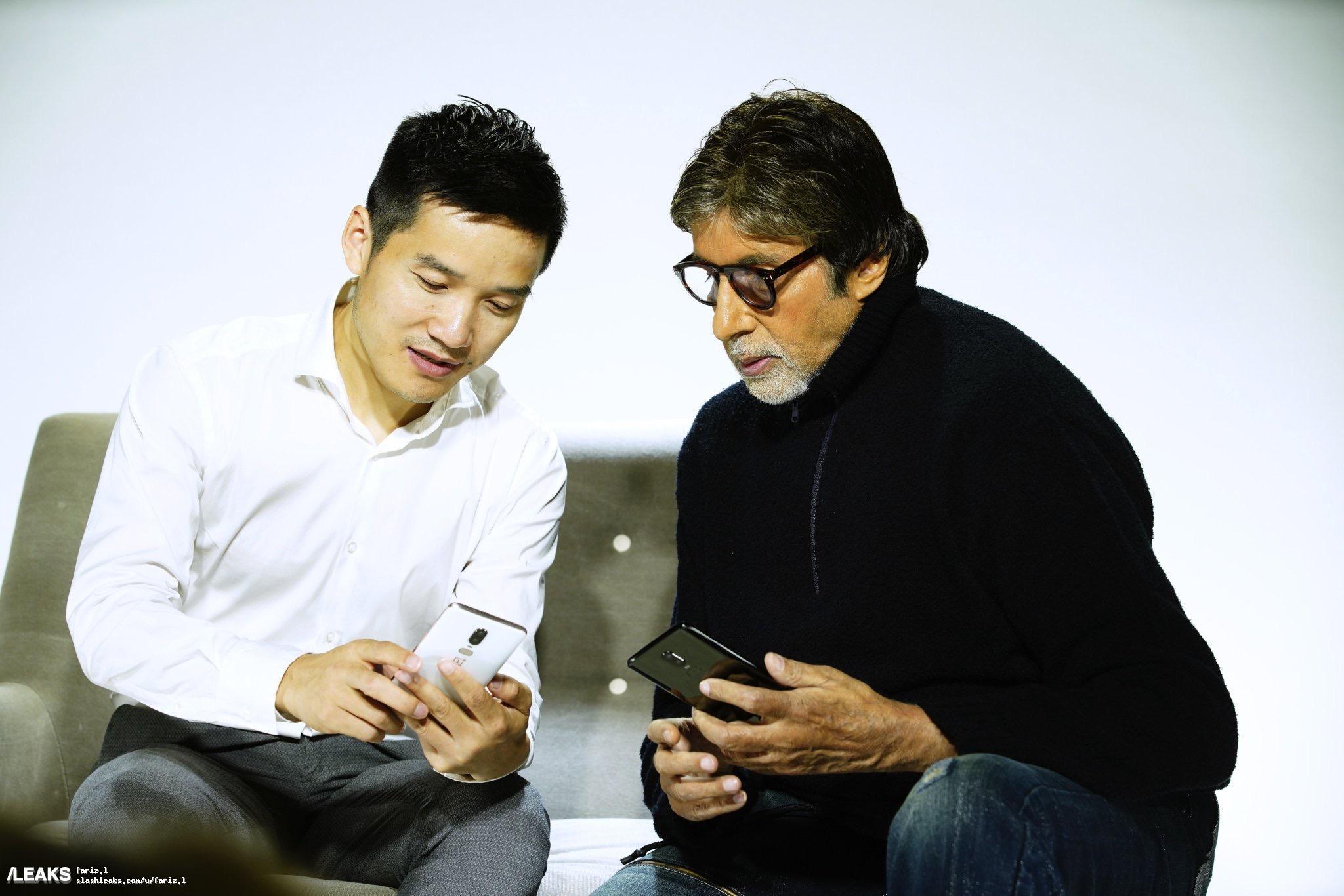 Руководитель OnePlus показал OnePlus 6 вживую