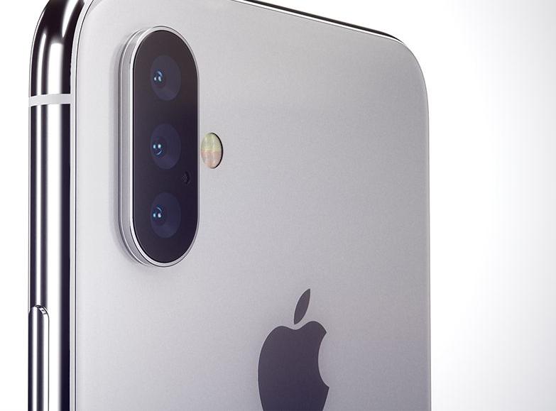 Apple может оснастить следующий iPhone тройной камерой