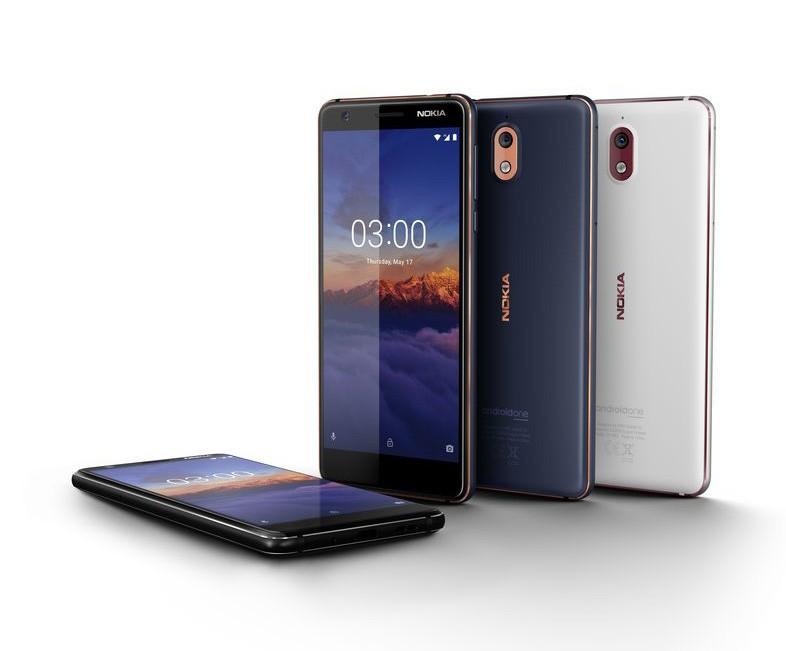HMD Global представила мобильные телефоны нокиа 2.1, 3.1 и5.1