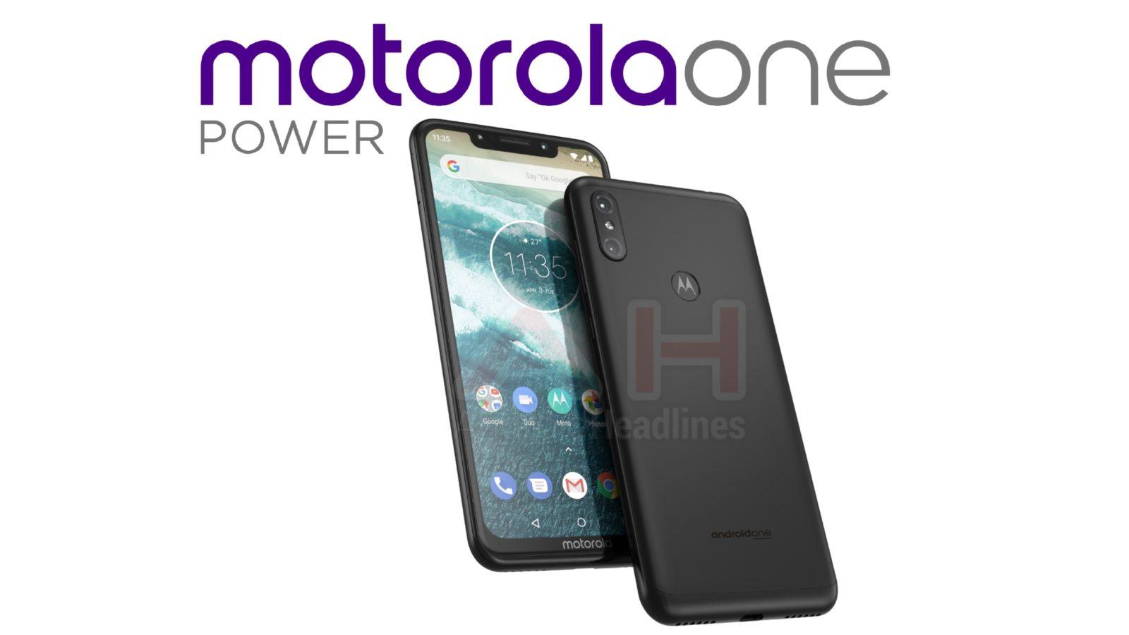 Motorola готовит квыпуску смартфон One Power набазе андроид One