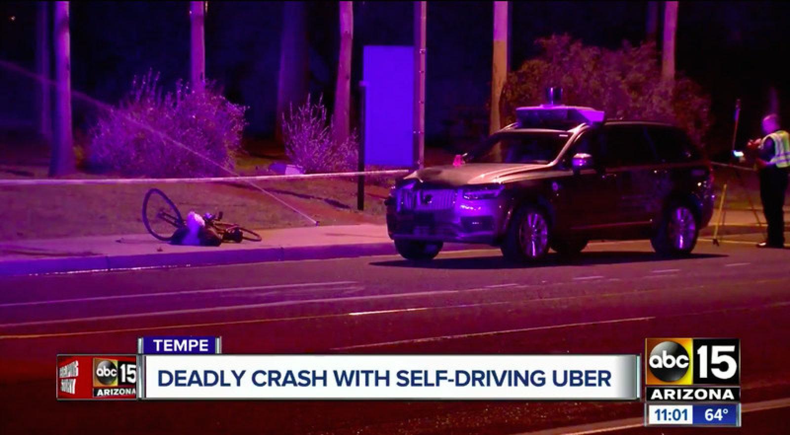 ВСША установили причины смертоносного ДТП сучастием беспилотного автомобиля Uber