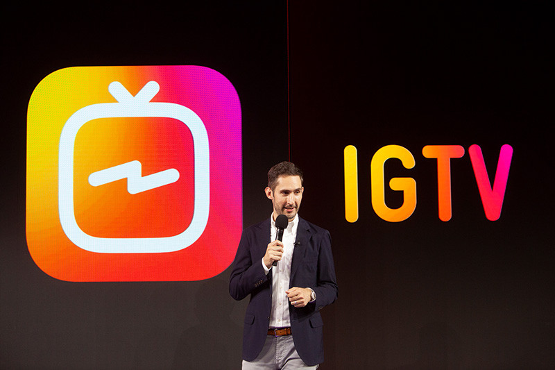 Социальная сеть Instagram представил приложение для публикации вертикальных видео длительностью до60 мин.