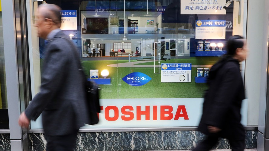 Toshiba продала производство флэш-памяти