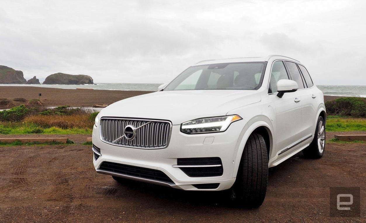 Вольво планирует сделать самоуправляемый автомобиль четвертого уровня к 2021г