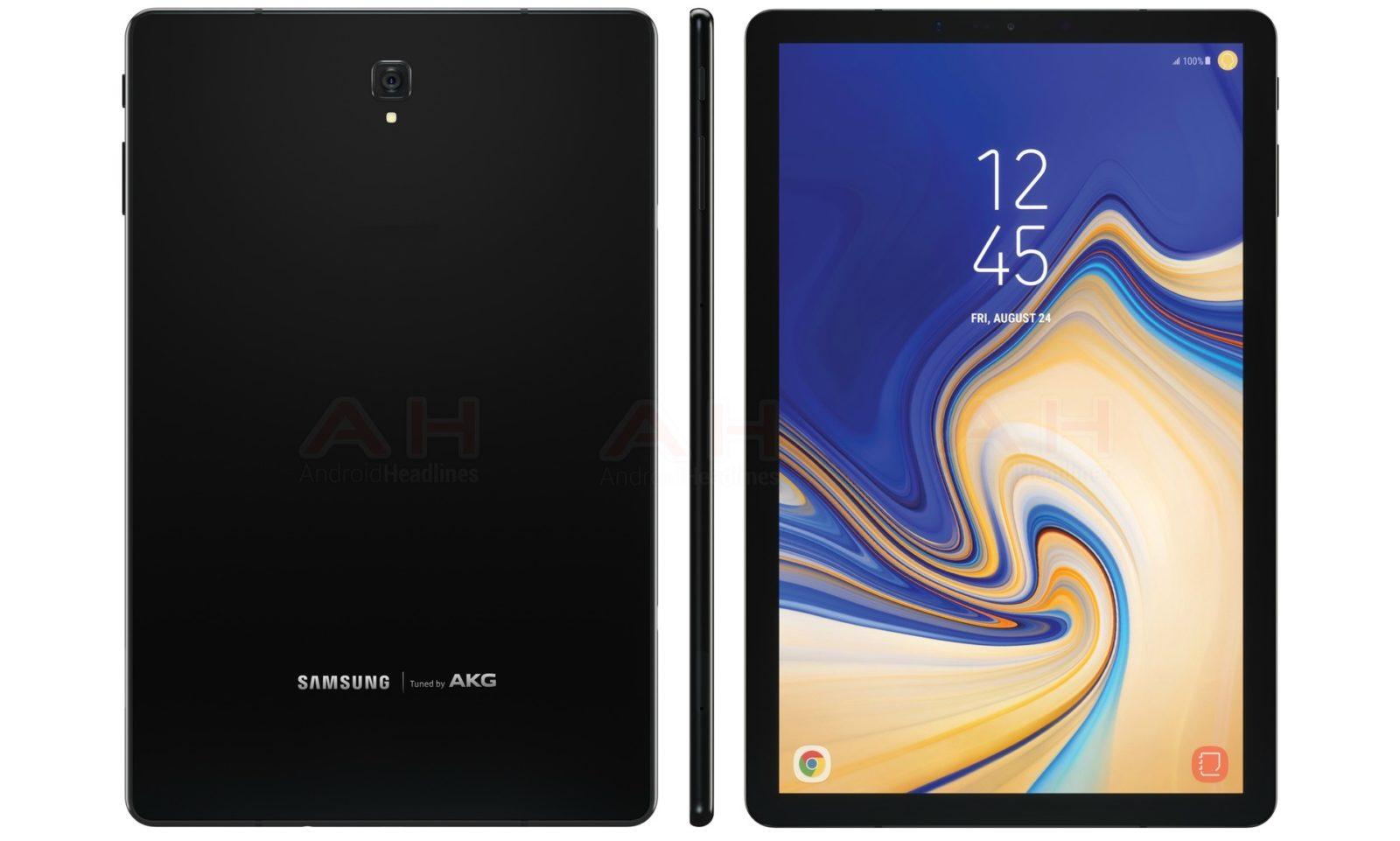 Смартфон Самсунг Galaxy Note 9 показали нановых рендерах