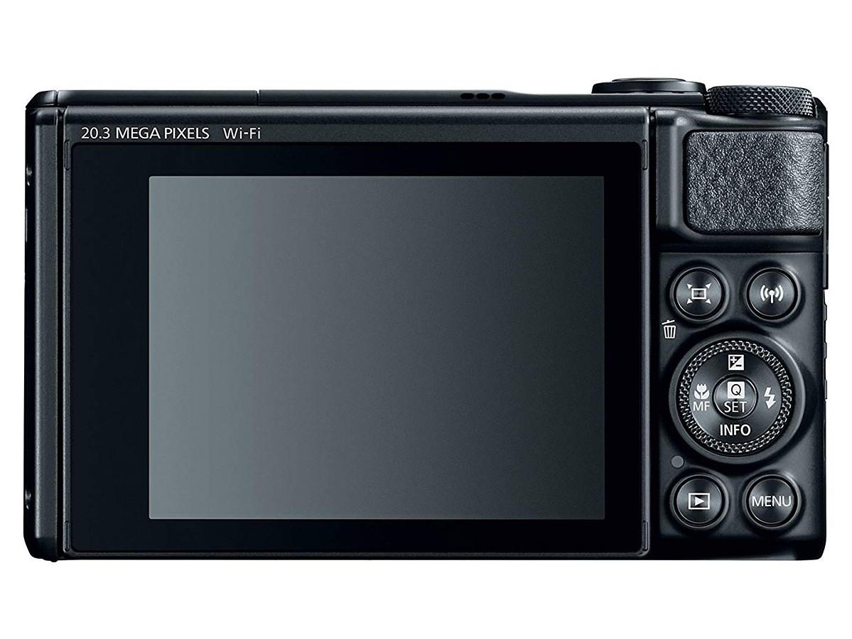 Canon представила компактный фотоаппарат с40-кратным зумом