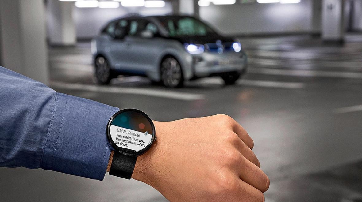 В2016 году нарынок выйдут умные часы БМВ