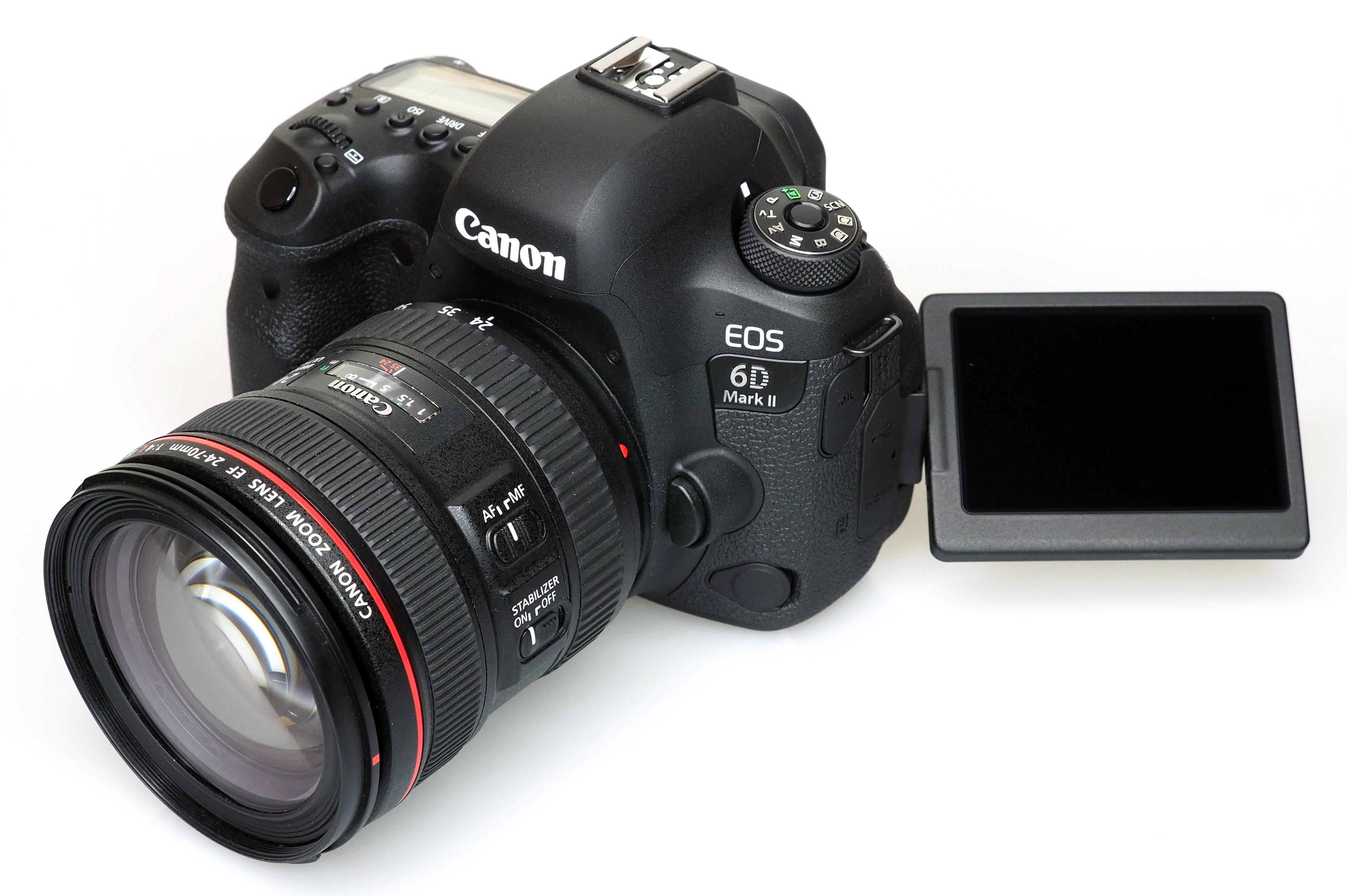 Чтобы исправить ошибку в камере Canon EOS 6D Mark II