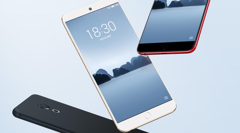 Meizu представила мобильные телефоны сосканером отпечатков пальцев прямо вэкране