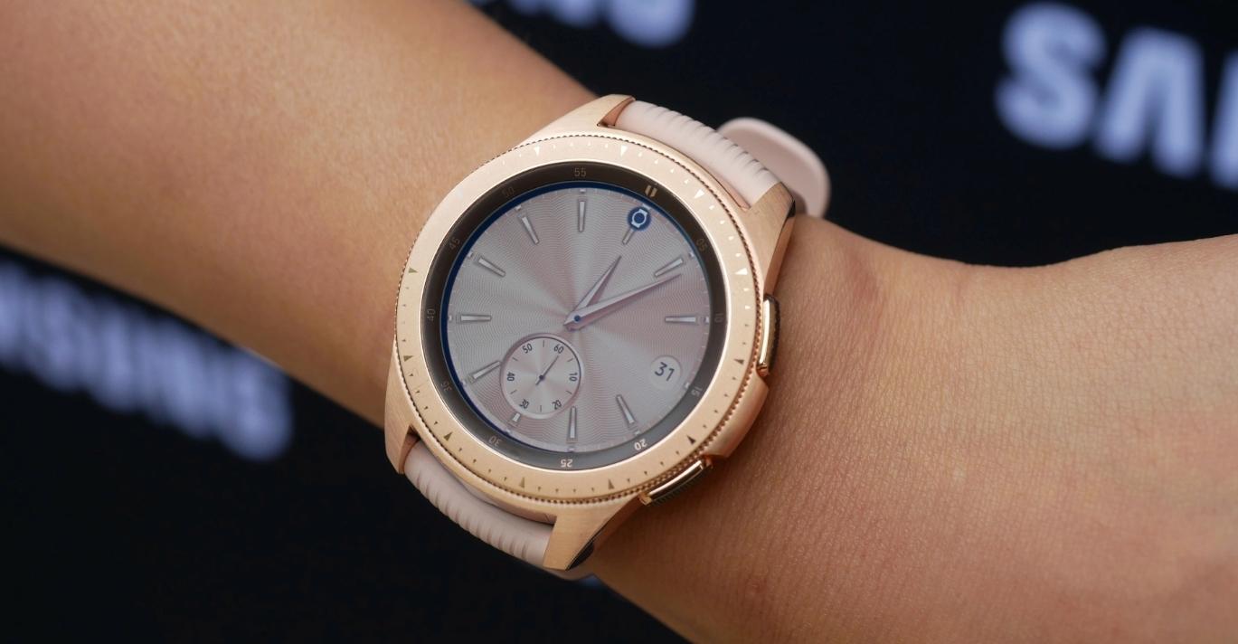Представлены умные часы Samsung Galaxy Watch (Обновлено) cd7c52e2b3683