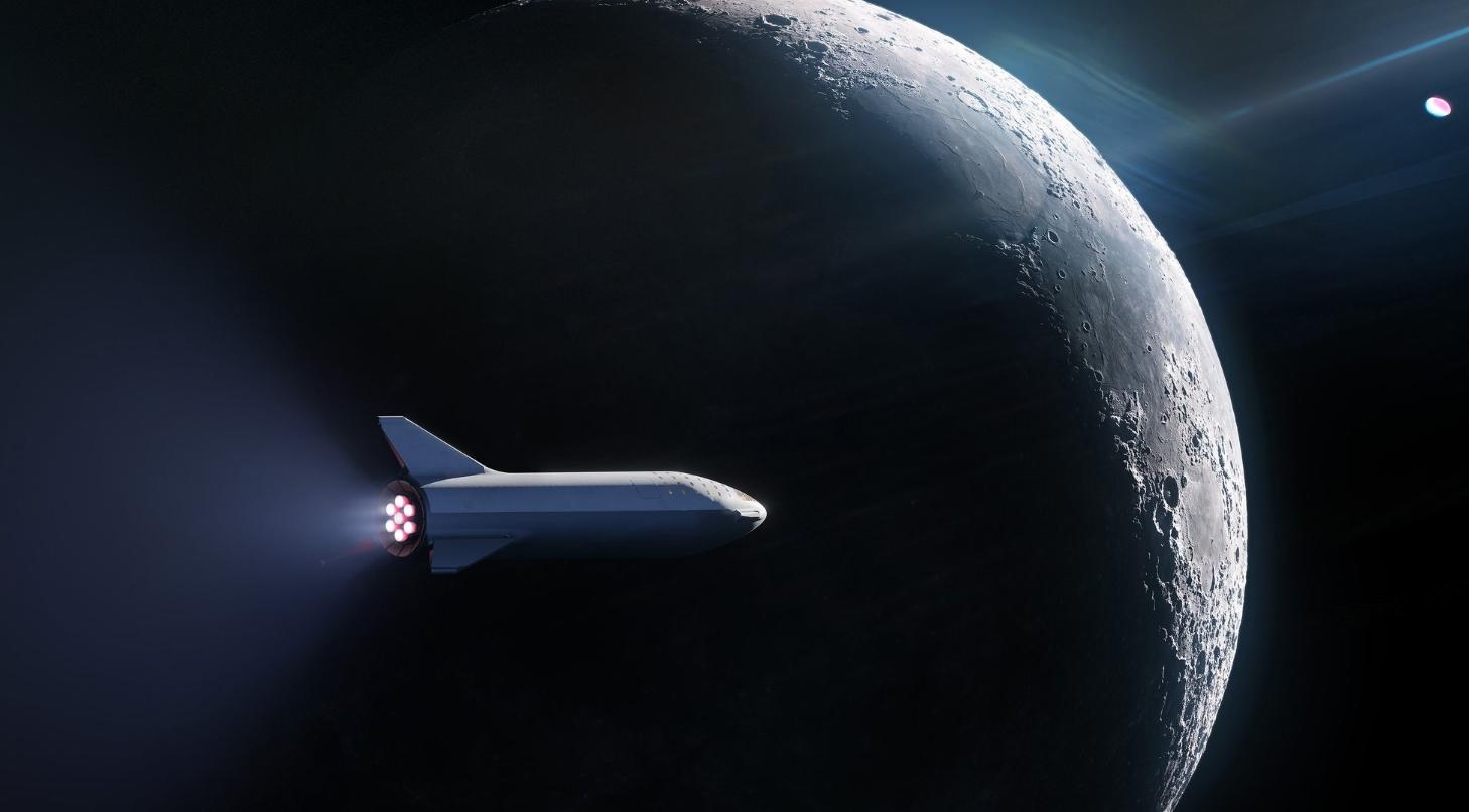 SpaceX заключила 1-ый вмире договор с«космическим туристом», который облетит Луну