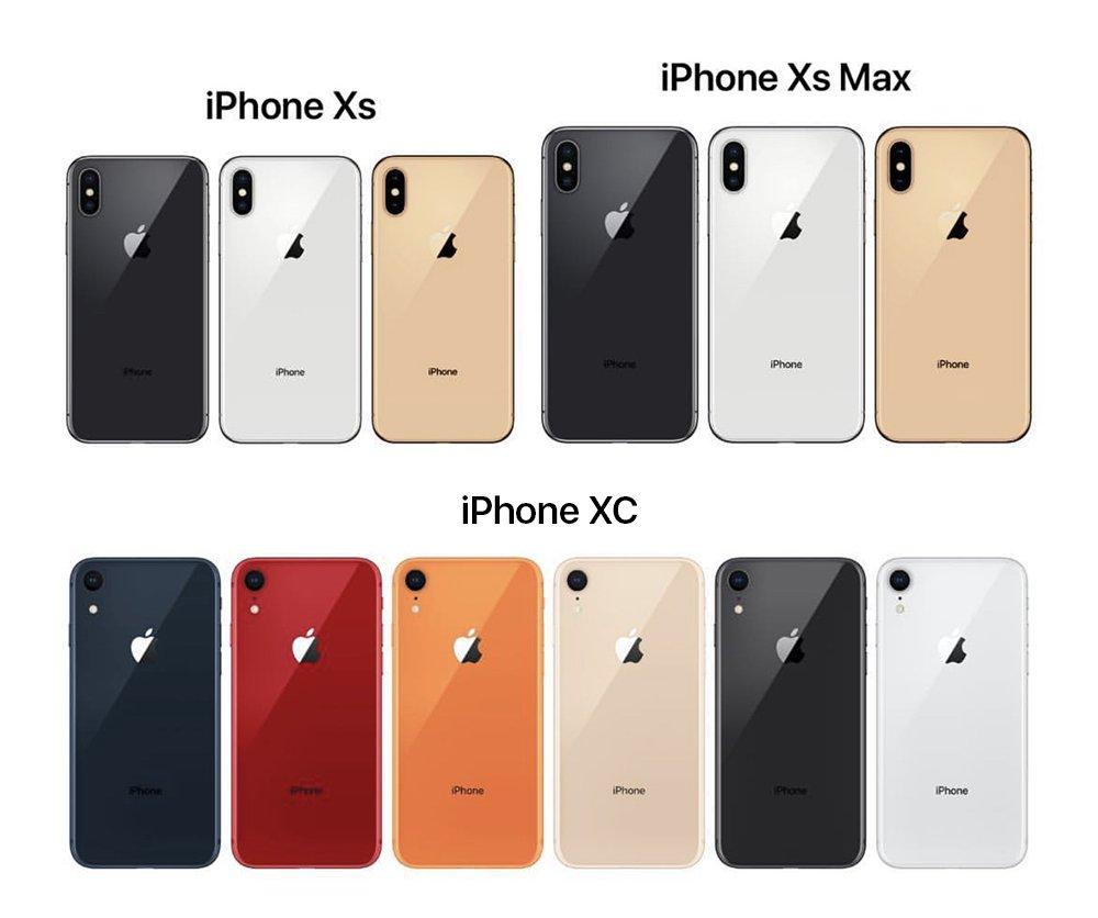 Цвет корпуса айфон