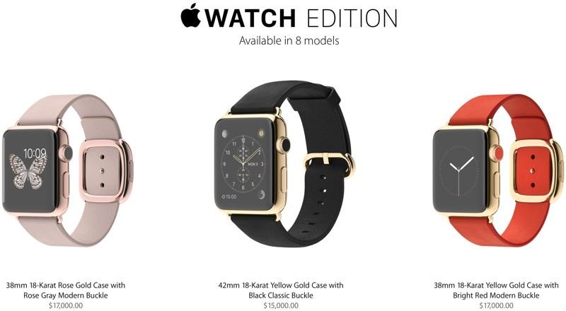 1c0e61591c27 Самые дорогие умные часы Apple Watch сняты с продажи