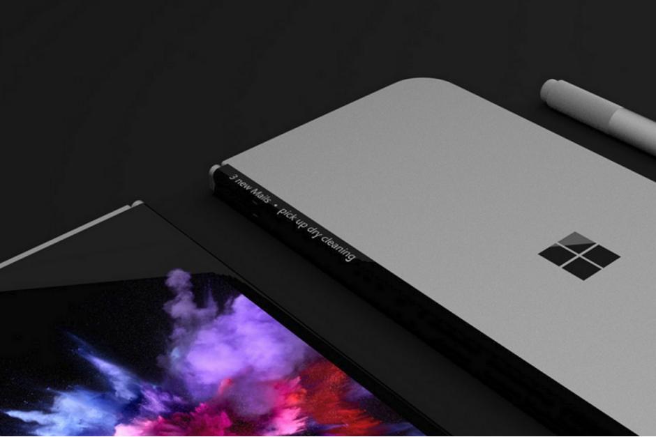 Мобильные телефоны Microsoft возвратятся сосгибающимся дисплеем