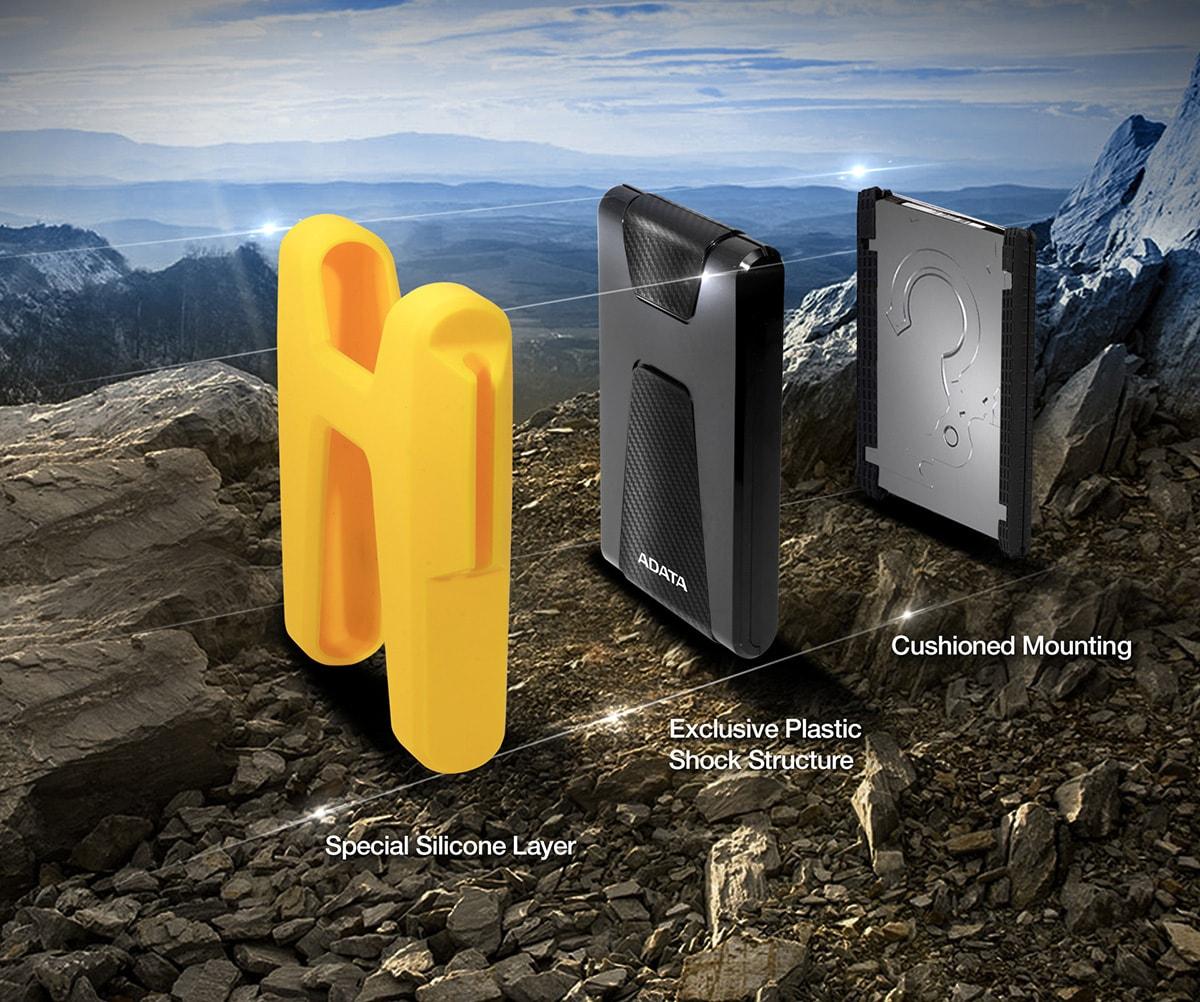 ADATA представила новейшую защищённую идизайнерскую модель внешних жестких дисков