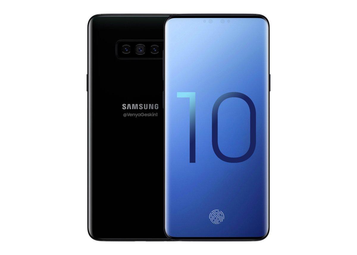 c2e30d2d288cf Так может выглядеть флагманский смартфон Samsung Galaxy S10+