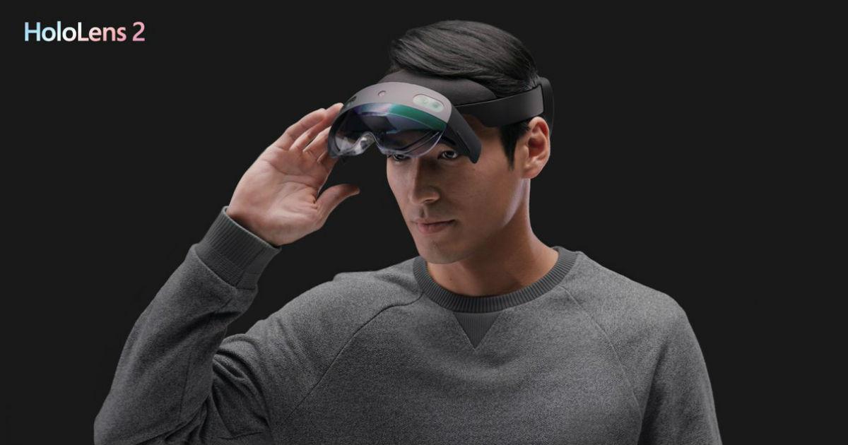 Microsoft показала шлем смешанной реальности HoloLens 2