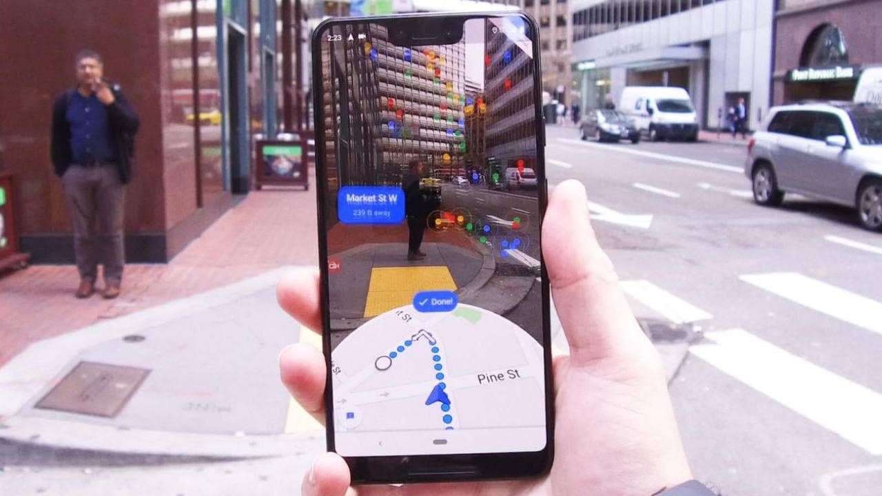 Nokia HERE vs. Google Maps: layout and options