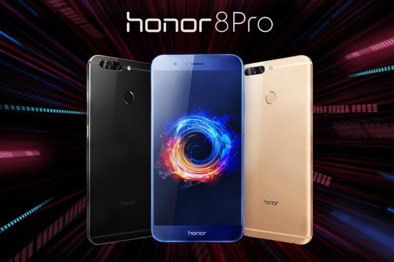 Пользователи Honor 8 Pro начали получать прошивку EMUI 9 0