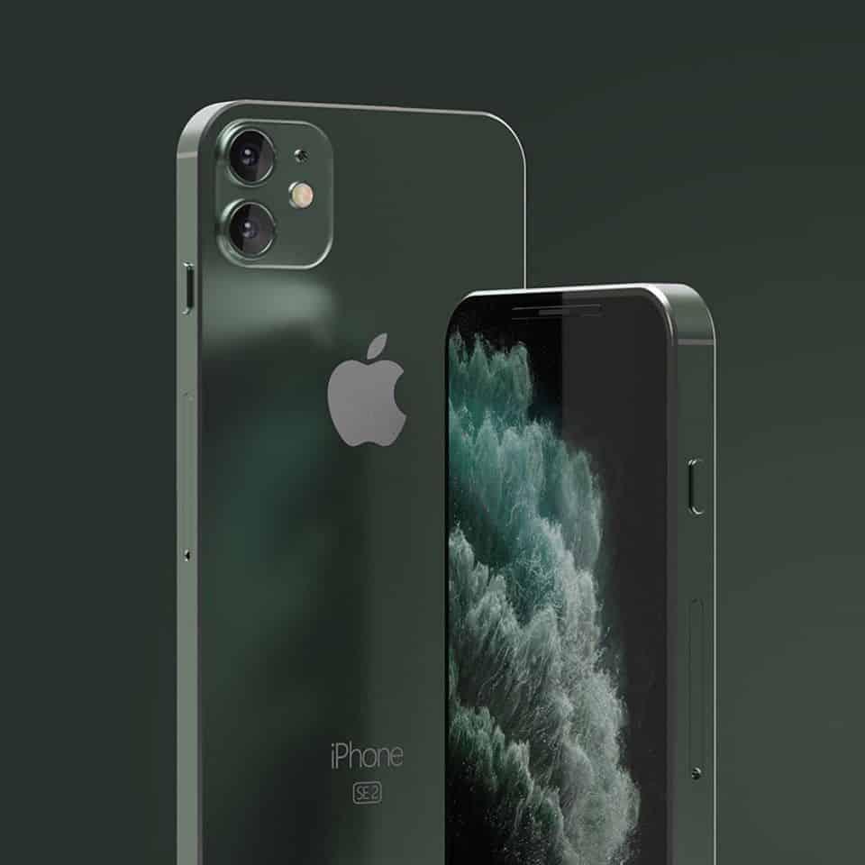 Вот как выглядит iPhone SE 2