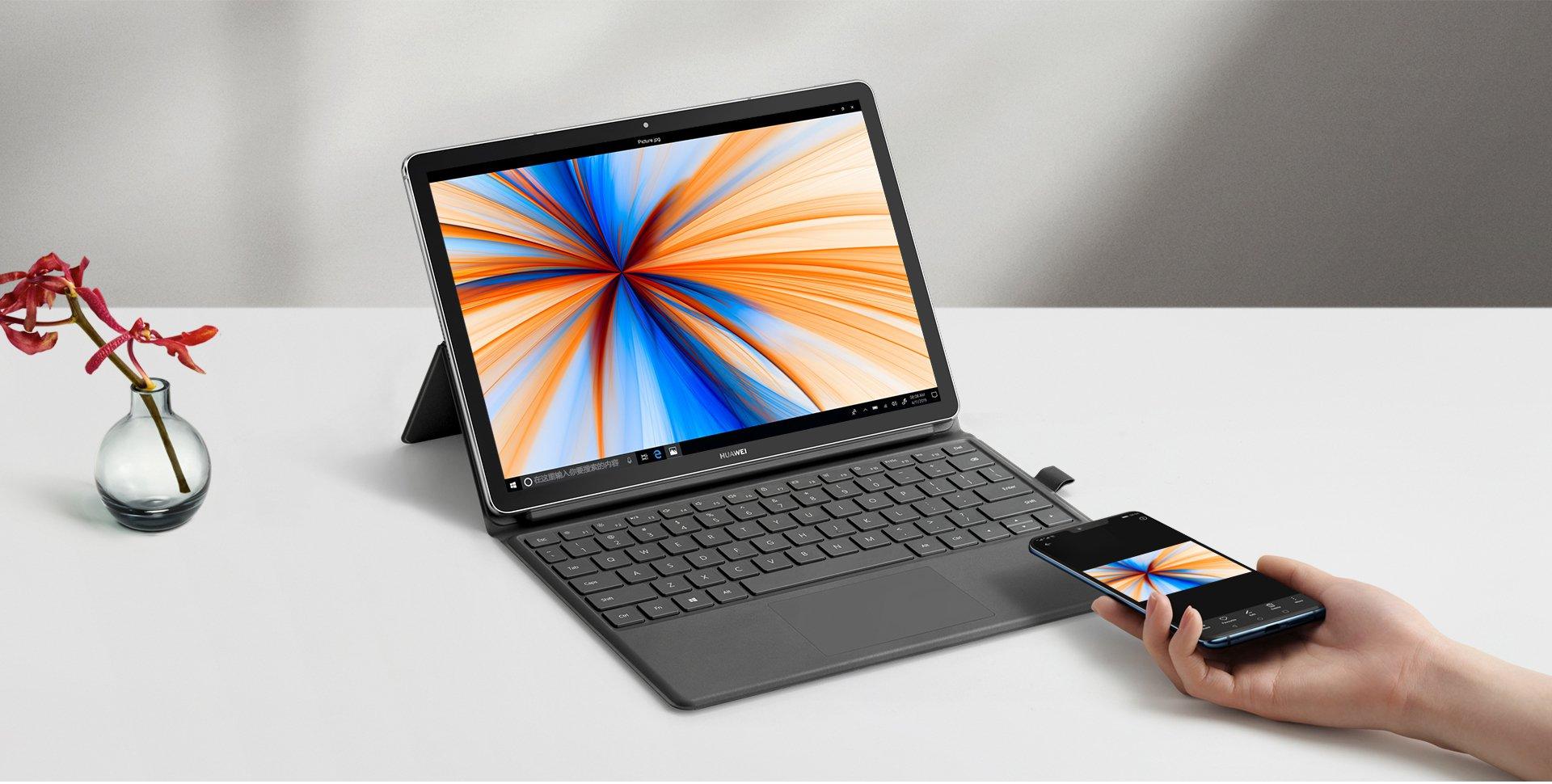 С опережением в месяц. Huawei представила мобильный компьютер Mate Book E 2019 на платформе Snapdragon 850 и Windows 10
