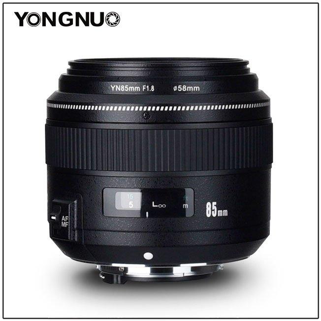 Объектив <b>Yongnuo YN85mm F1</b>.<b>8</b> стал доступен в варианте с ...