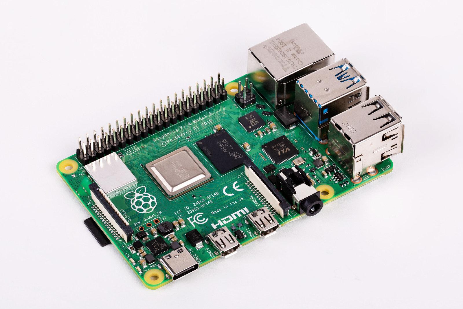 Мини-компьютер Raspberry Pi4 представлен официально