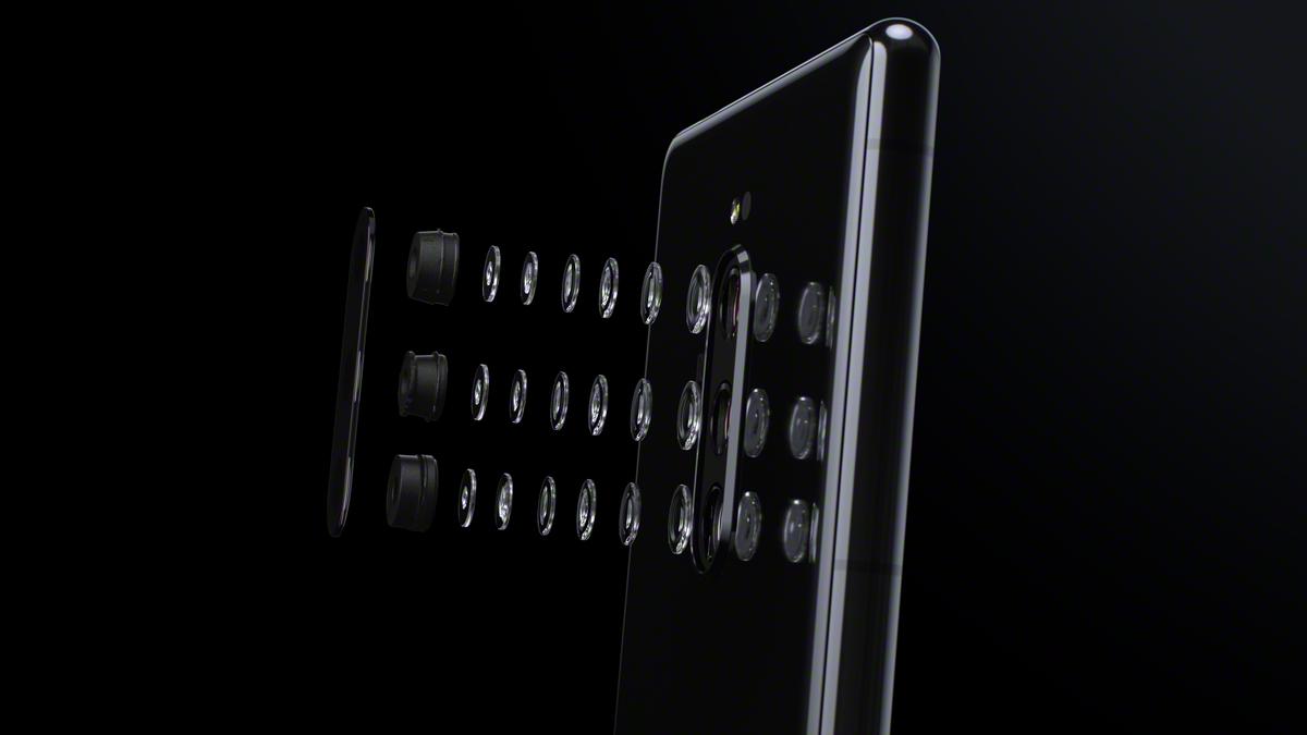 Сони  разрабатывает 1-ый  вмире сворачивающийся смартфон