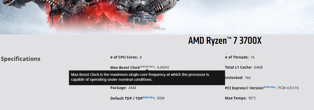 AMD объяснила, что означает параметр Max Boost Clock у новейших