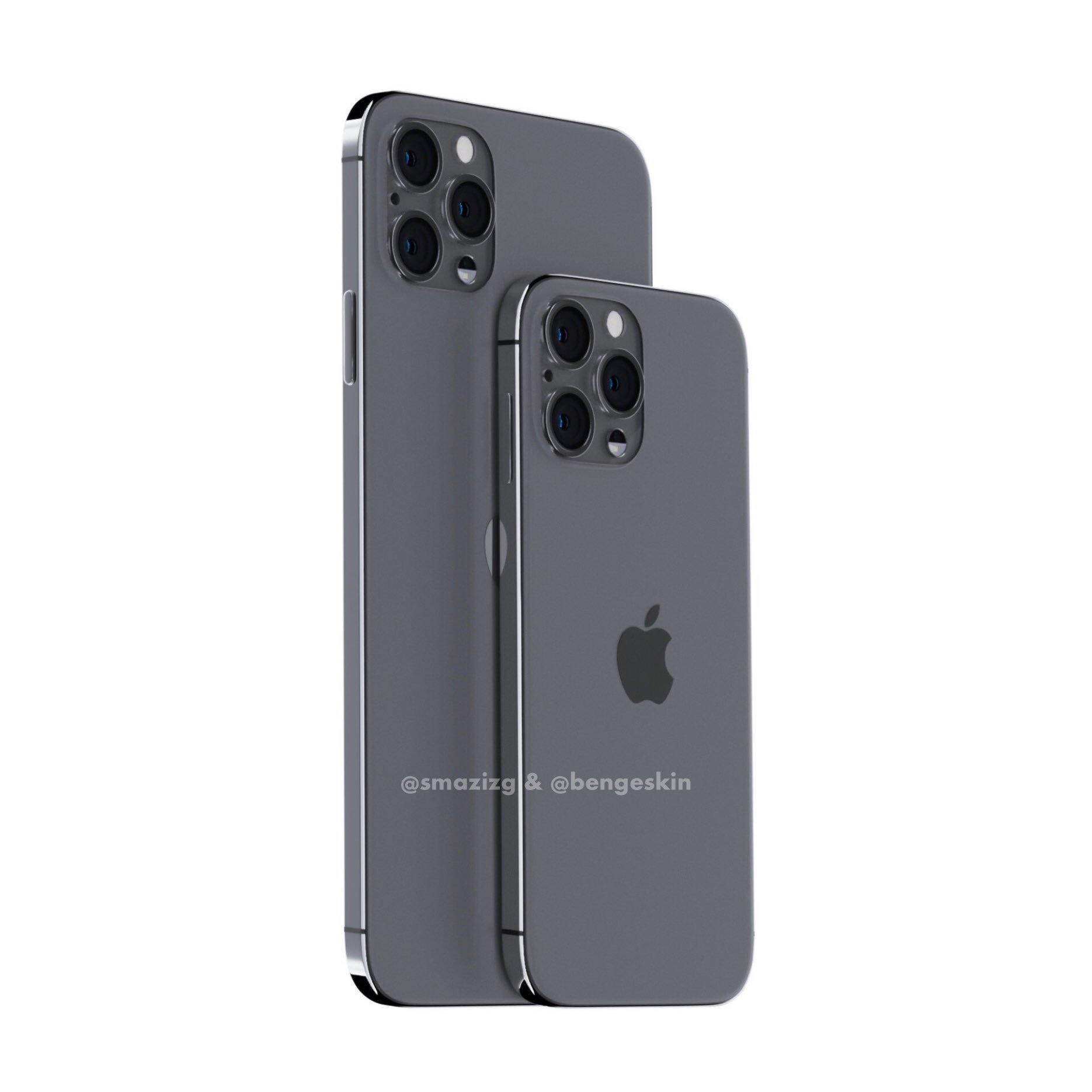 Галерея дня: компактный безрамочный iPhone XE во всей красе ... | 1870x1870