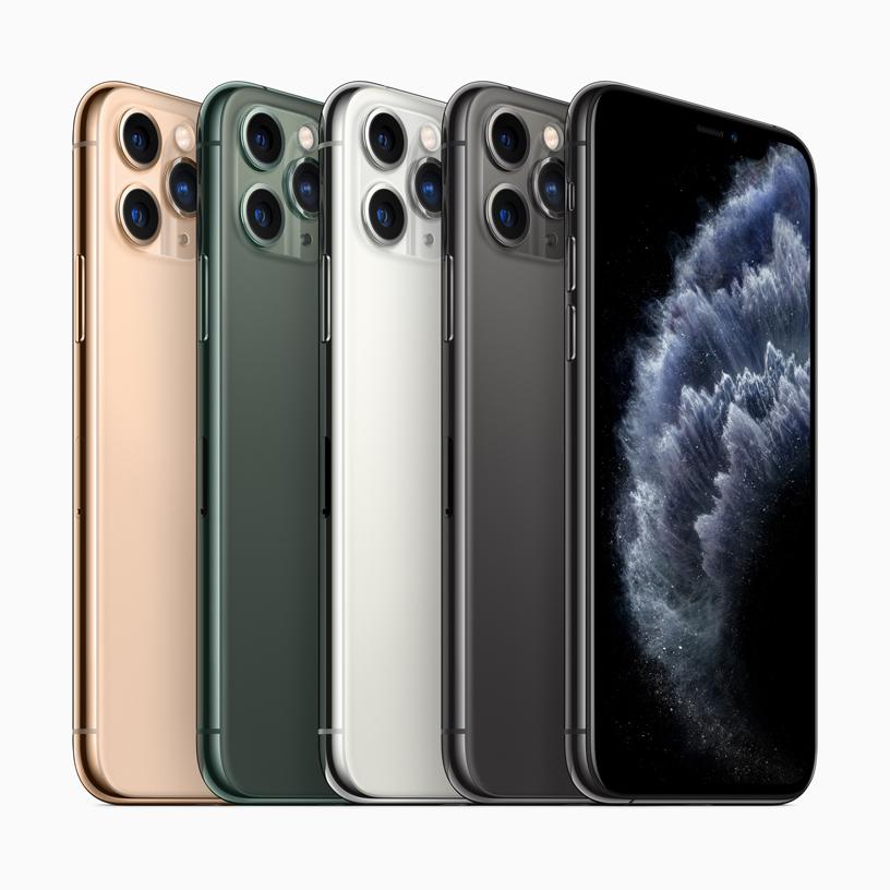 Новые цвета iPhone 11 Pro