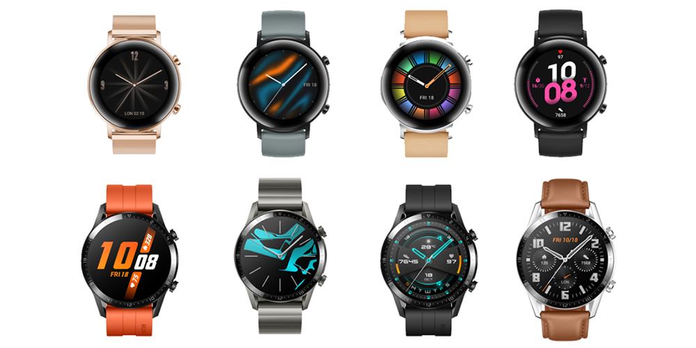 Huawei представила новые «умные» часы сдвухнедельной длительностью работы