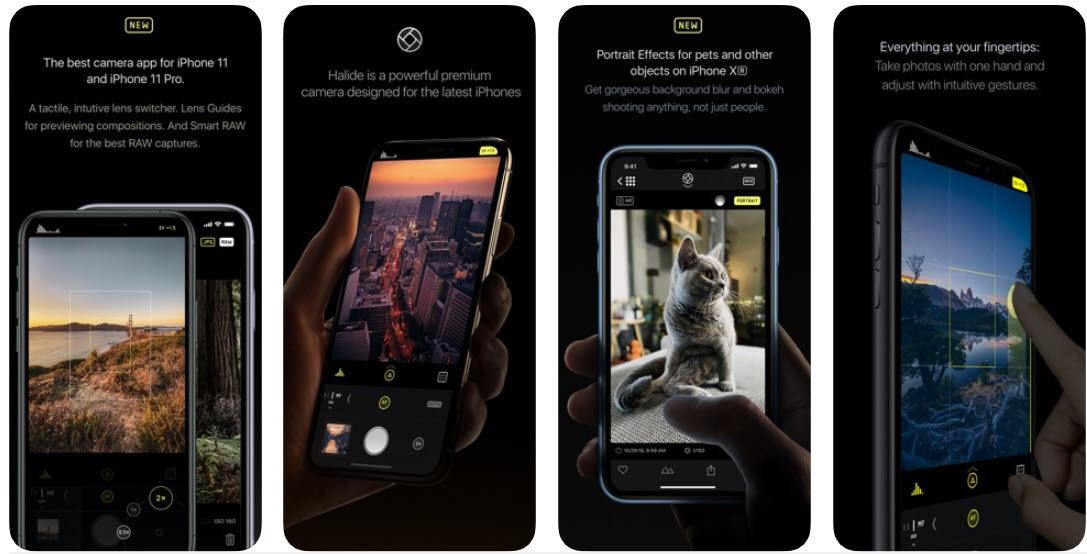 первый взгляд, приложение для айфона широкоугольные фото рычагах