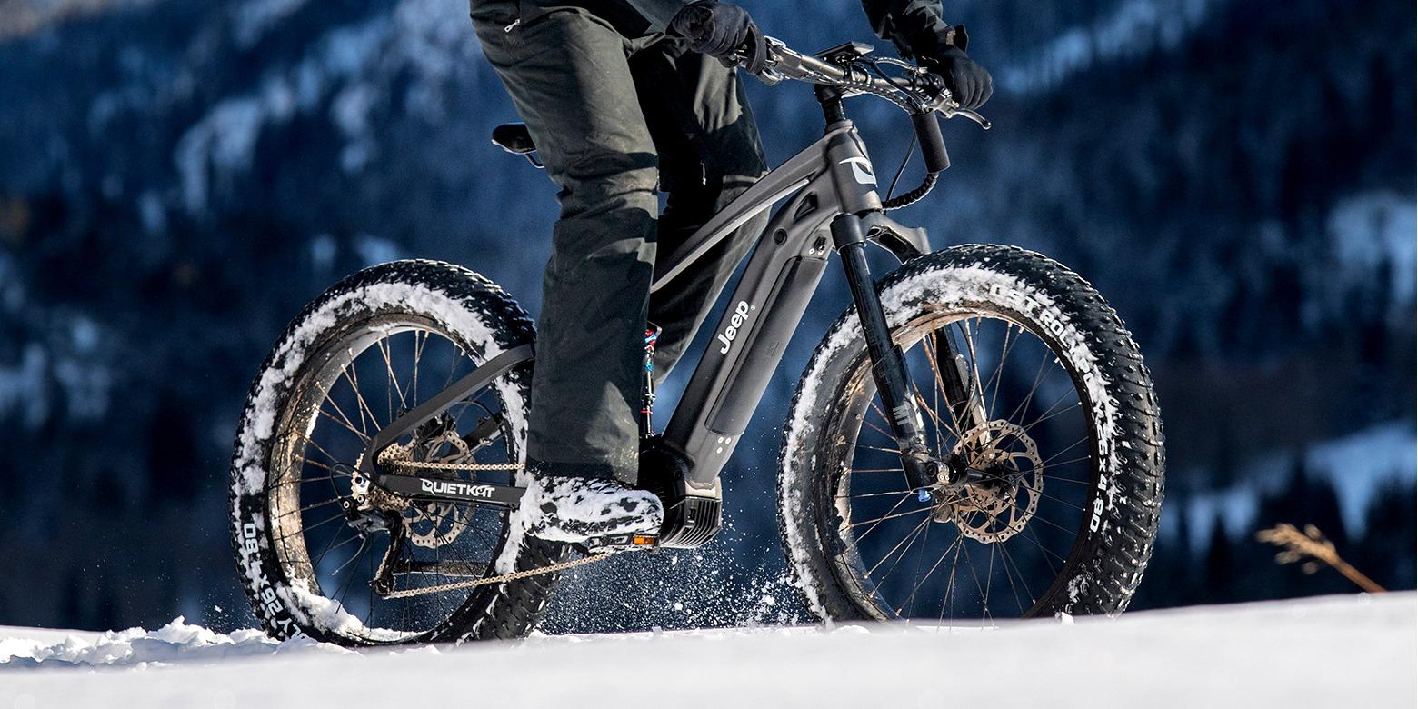 Jeep e-Bike — невероятно мощный внедорожный электрический велосипед