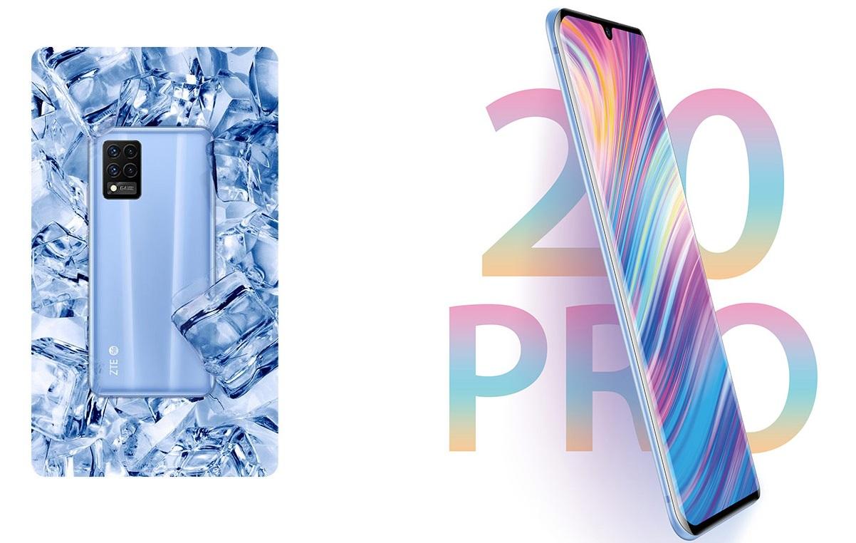 Представлен очень тонкий смартфон ZTE Blade 20 Pro 5G