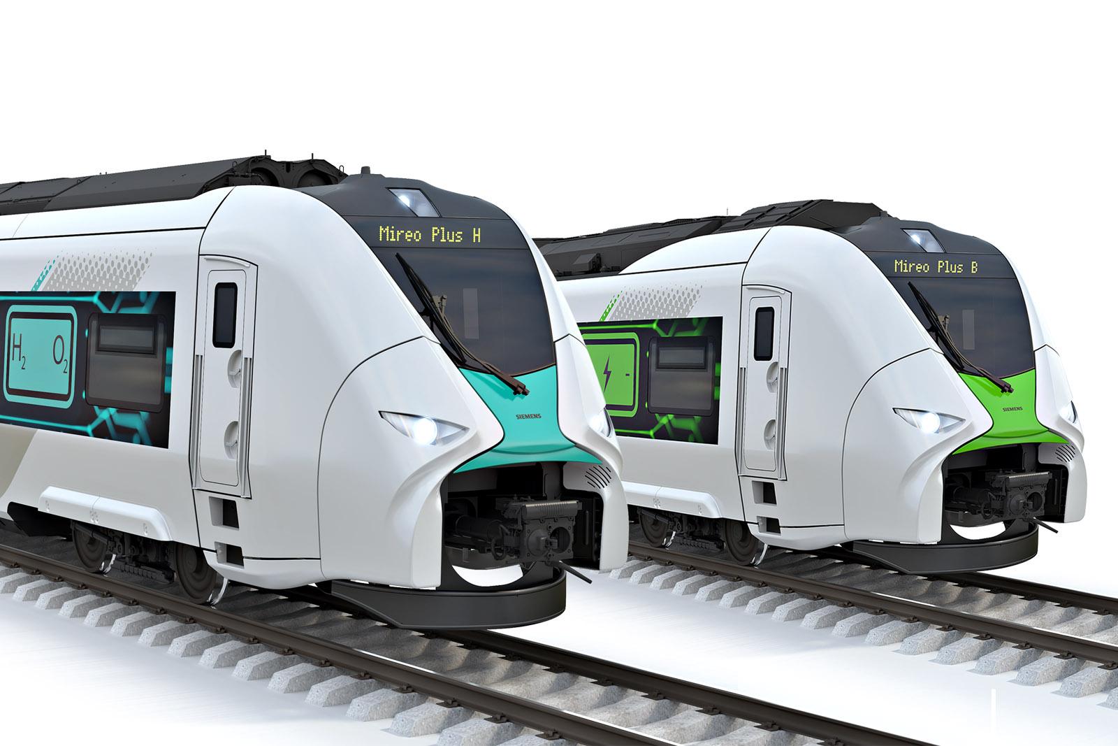 Siemens и Deutsche Bahn приступили к разработке поездов на водородных топливных элементах